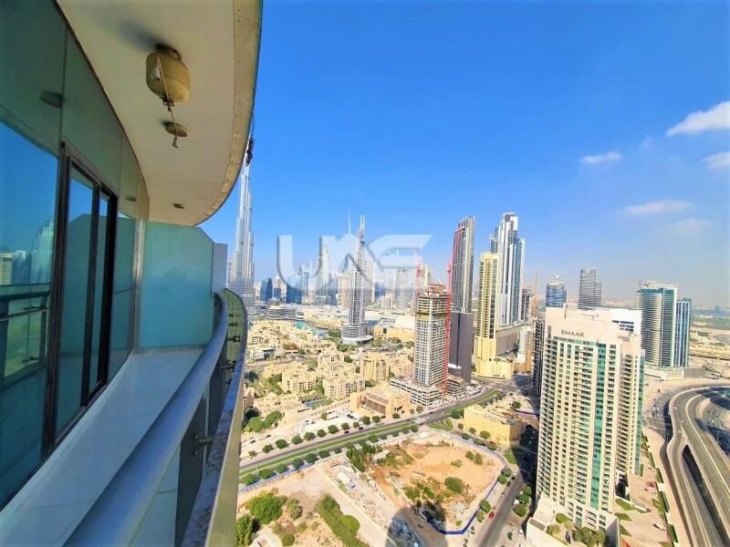 Burj Khalifa View    Luxurious 2 Bedroom   Fully Furnished