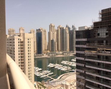 Marina View Furnished 1 Bedroom - Motivated Seller - Dubai Marina