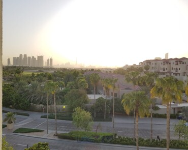 Burj Views - 3 Bedroom Plus Maids - Unfurnished - Dubai Festival City