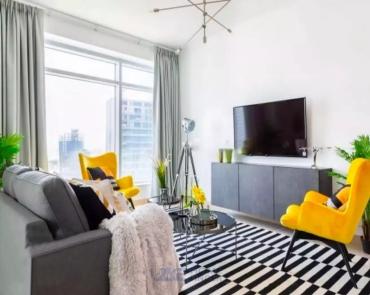Fully Furnished| Elegant 1 Bed |Rented Unit |Burj Views