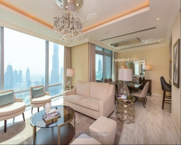 Luxury Duplex  Full Burj and Fountain View  High Floor  4BR