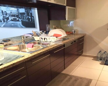 High Floor  Fully Furnished   Well Maintained  1 Bed Apt