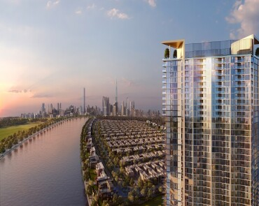 NEW LAUNCH - 50% DLD WAIVER - WAVES- WATERFRONT APARTMENTS