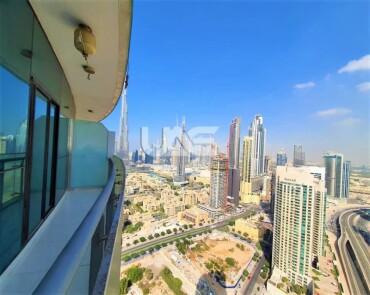 Burj Khalifa View  | Luxurious 2 Bedroom | Fully Furnished